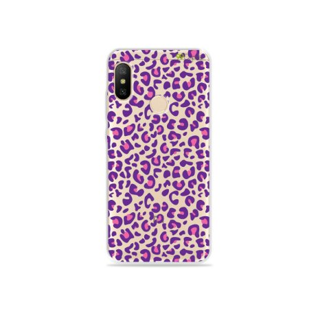 Capa para Xiaomi Mi A2 Lite - Animal Print Purple