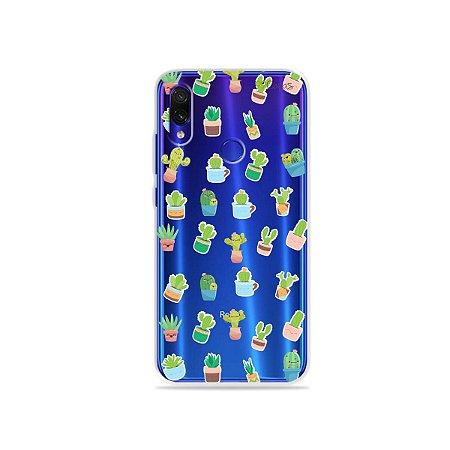 Capa para Xiaomi Redmi 7 - Cactus