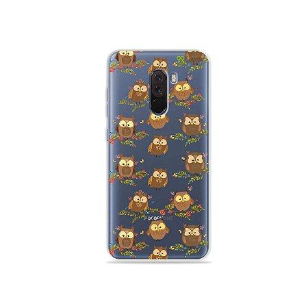 Capa para Xiaomi Pocophone F1 - Corujinhas