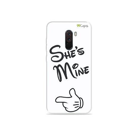 Capa para Xiaomi Pocophone F1 - She's Mine