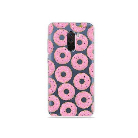 Capa para Xiaomi Pocophone F1 - Donuts