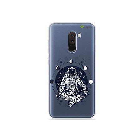Capa para Xiaomi Pocophone F1 - Astronauta