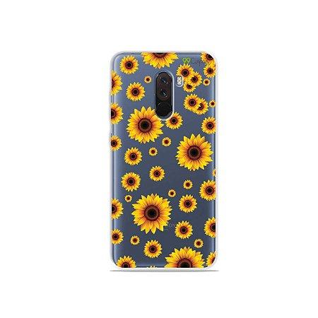 Capa para Xiaomi Pocophone F1 - Girassóis