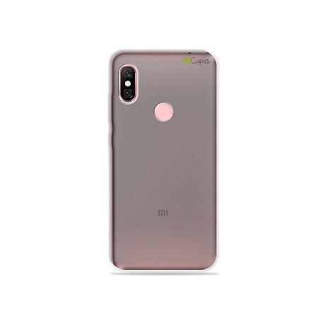 Capa Fumê para Xiaomi Redmi Note 6 Pro {Semi-transparente}