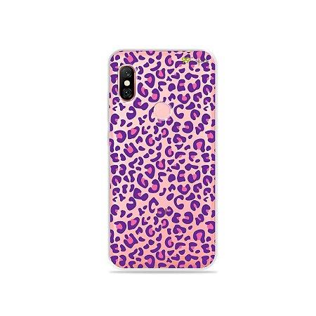 Capa para Xiaomi Redmi Note 6 Pro - Animal Print Purple