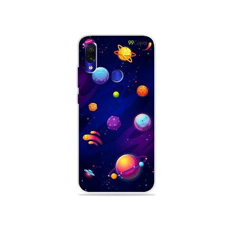 Capa para Xiaomi Redmi 7 - Galáxia