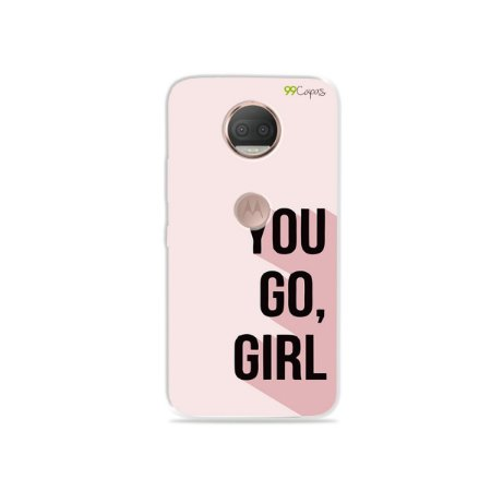 Capa para Moto G5S Plus - You Go, Girl