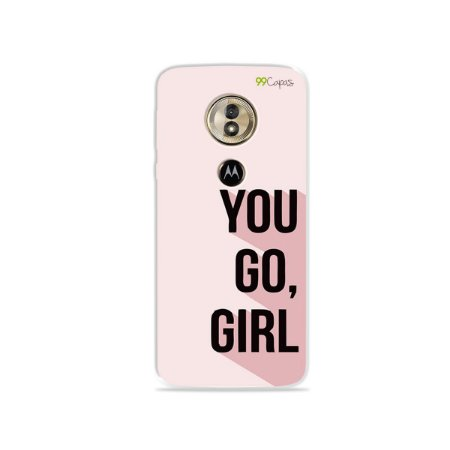 Capa para Moto G6 Play - You Go, Girl