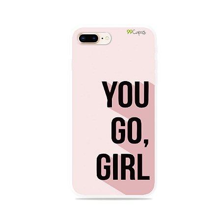 Capa para iPhone 8 Plus - You Go, Girl