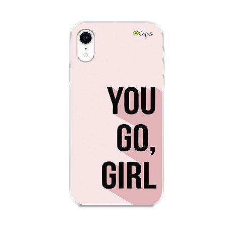 Capa para iPhone XR - You Go, Girl