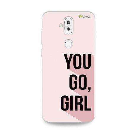 Capa para Zenfone 5 Selfie Pro - You Go, Girl