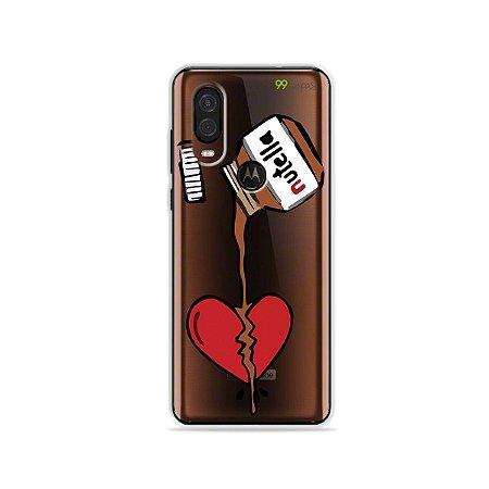 Capa para Moto One Vision - Nutella