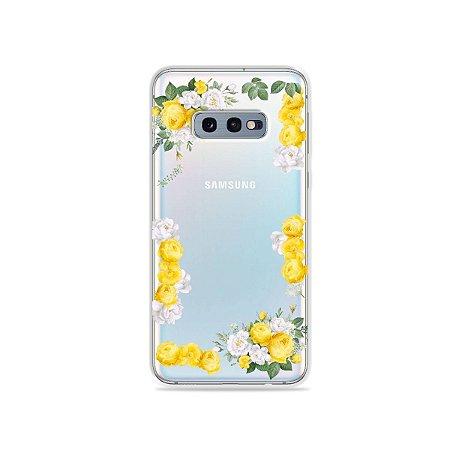 Capa para Galaxy S10e - Yellow Roses