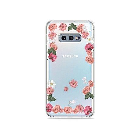 Capa para Galaxy S10e - Pink Roses