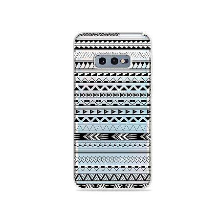 Capa para Galaxy S10e - Maori Branca