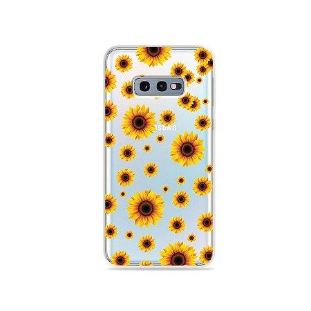 Capa para Galaxy S10e - Girassóis