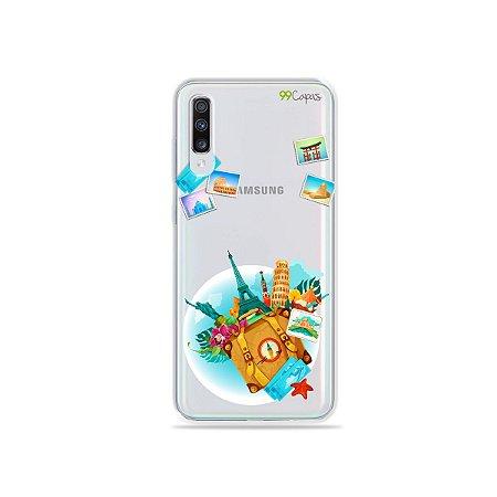 Capa para Galaxy A70 - Memorias