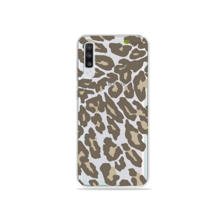 Capa para Galaxy A70 - Animal Print Nude