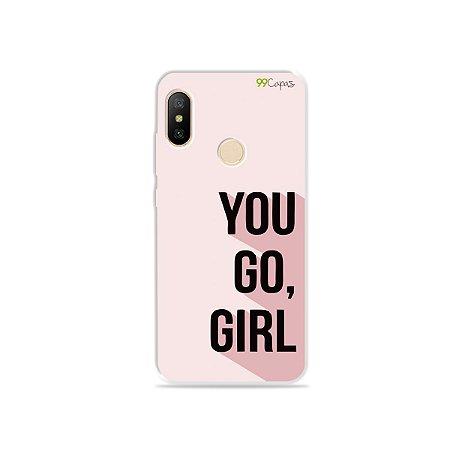 Capa para Xiaomi Mi A2 Lite - You Go, Girl