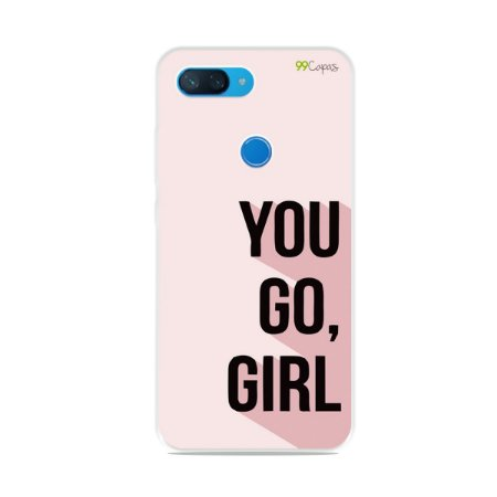 Capa para Xiaomi Mi 8 Lite - You Go, Girl