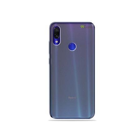 Capa Fumê para Xiaomi Redmi Note 7 {Semi-transparente}