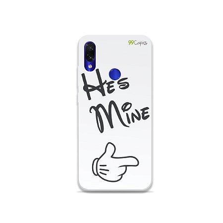 Capa para Xiaomi Redmi Note 7 - He's Mine