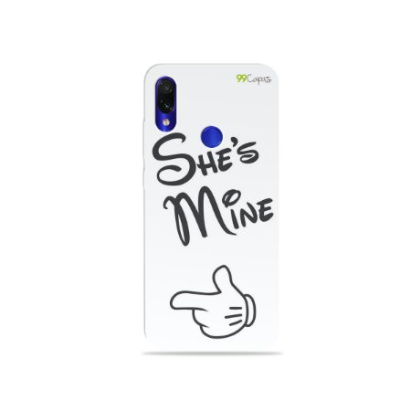 Capa para Xiaomi Redmi Note 7 - She's Mine