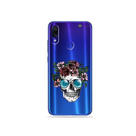 Capa para Xiaomi Redmi Note 7 - Caveira