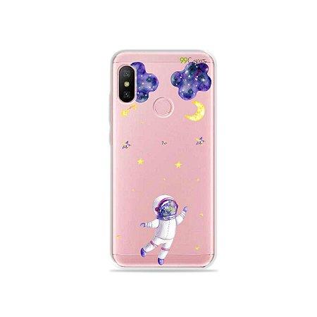 Capa para Xiaomi Redmi Note 6 - Astronauta Sonhador