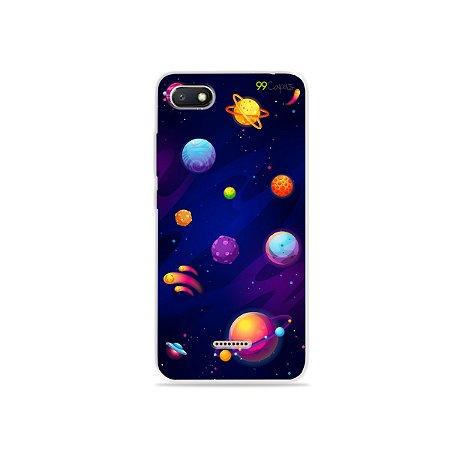 Capa para Xiaomi Redmi 6A - Galáxia