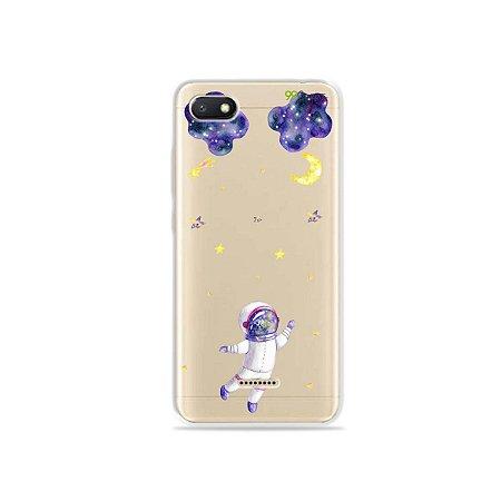 Capa para Xiaomi Redmi 6A - Astronauta Sonhador