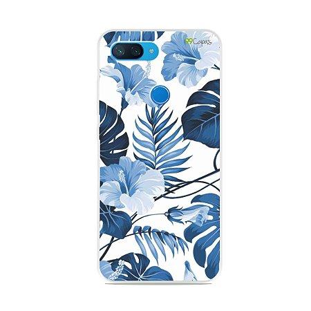 Capa para Xiaomi Mi 8 Lite - Flowers in Blue