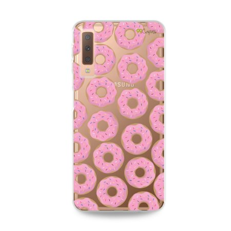 Capa para Galaxy A7 2018 - Donuts