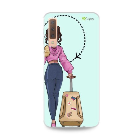 Capa para Galaxy A7 2018 - Best  Friends 2