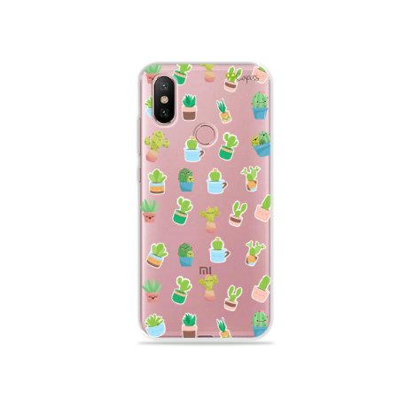 Capa para Xiaomi Mi A2 - Cactus