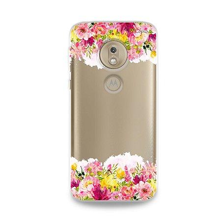 Capa para Moto G7 Play - Botânica
