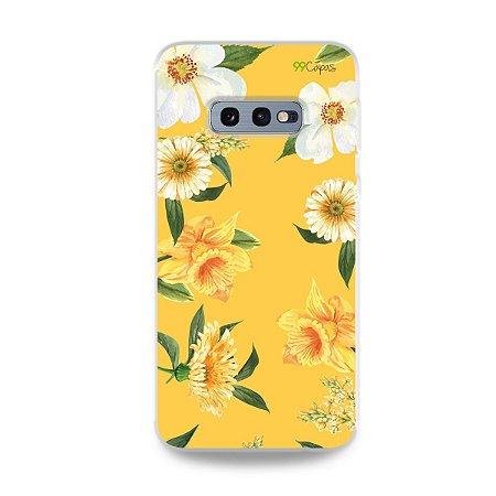 Capa para Galaxy S10e - Margaridas