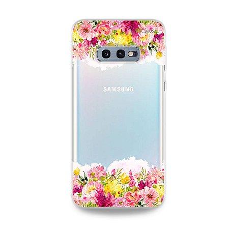 Capa para Galaxy S10e - Botânica