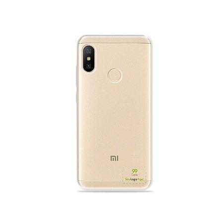 Capa Anti-shock transparente para Xiaomi com sua logo no canto inferior direito