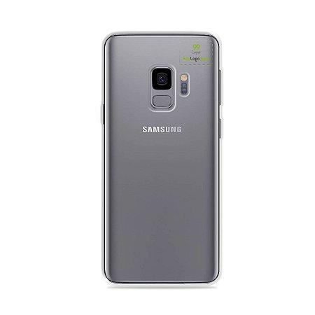 Capa Anti-shock transparente para Galaxy S com sua logo no canto superior direito