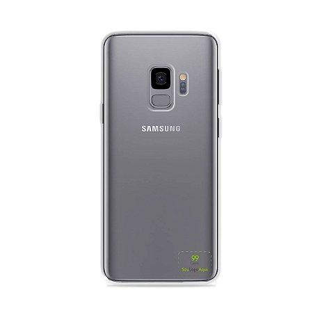 Capa Anti-shock transparente para Galaxy S com sua logo no canto inferior direito