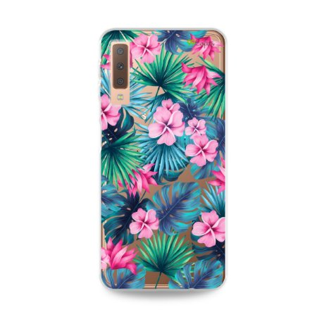 Capa para Galaxy A7 2018 - Tropical