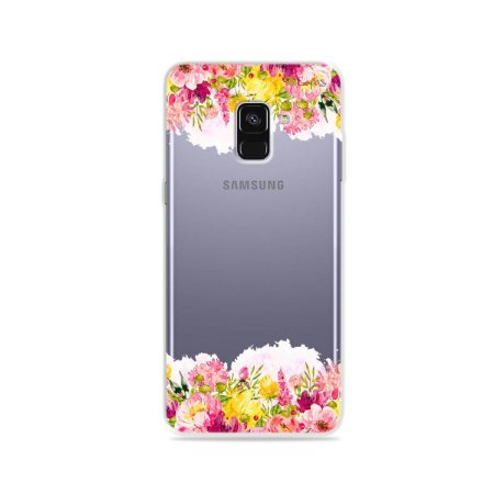 Capa para Galaxy A8 Plus 2018 - Botânica