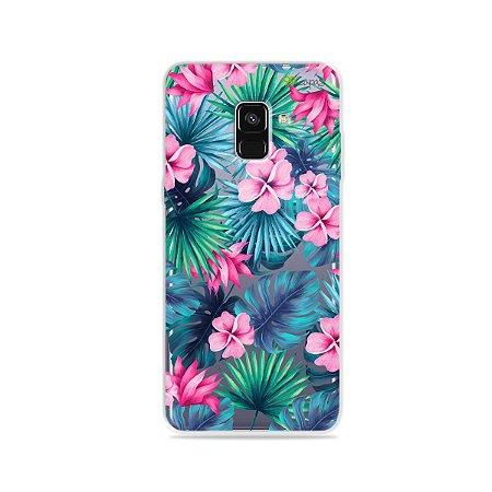Capa para Galaxy A8 Plus 2018 - Tropical