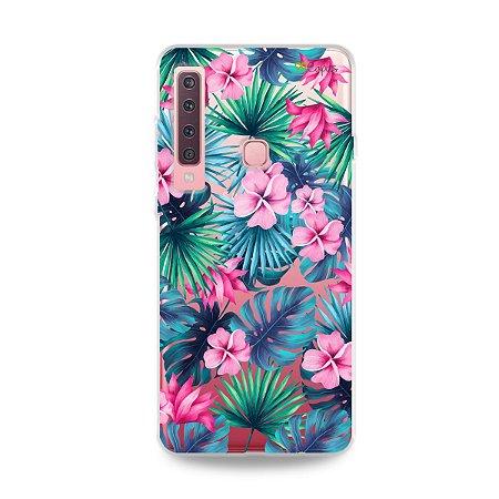 Capa para Galaxy A9 2018 - Tropical