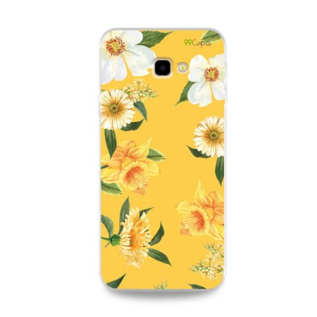 Capa para Galaxy J4 Plus - Margaridas