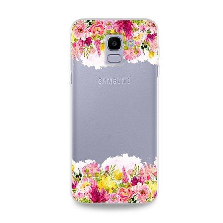 Capa para Galaxy J6 - Botânica
