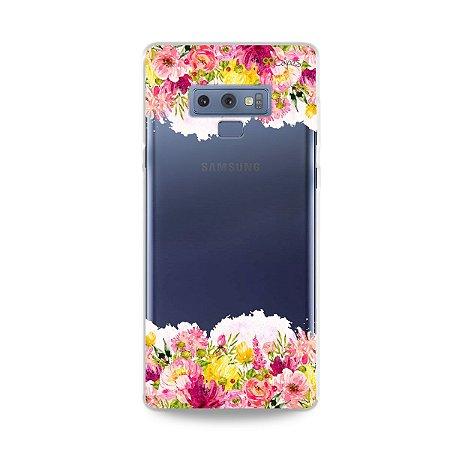 Capa para Galaxy Note 9 - Botânica