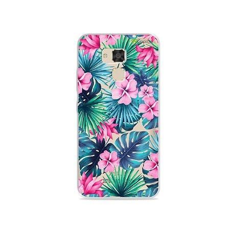 Capa para Asus Zenfone 3 Max - 5.2 Polegadas - Tropical