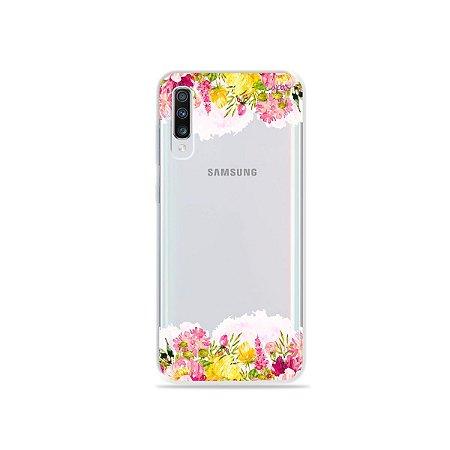 Capa para Galaxy A70 - Botânica